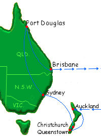 how to get to port douglas from brisbane