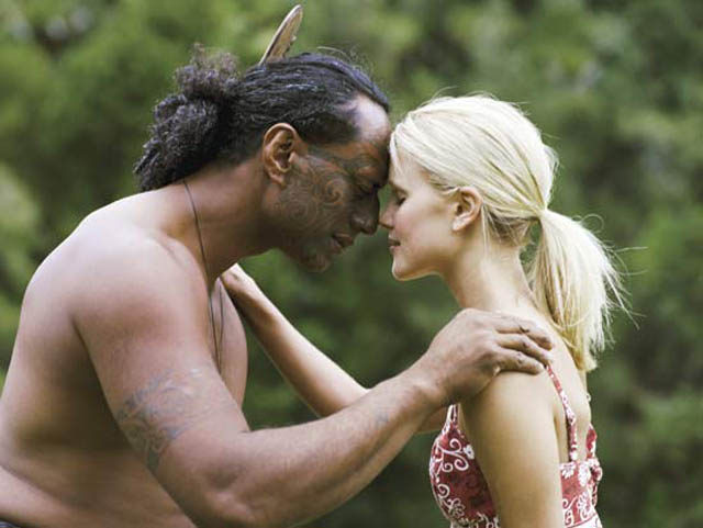 Maori Hongi - click to view a full description.