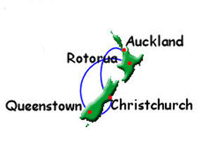 North & South Island Private Tour [NZ27]